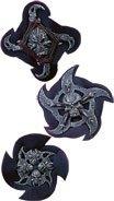 Rubie's Costume Co Skull Warrior Stars Costume (3 Piece) - 1