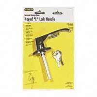 Images for Keyed Cylinder L-Handle Lock, Chrome