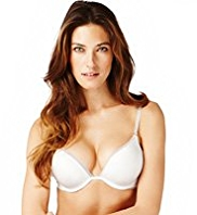 Underwired 2 Cup Sizes Bigger Push-Up AA-D Bra