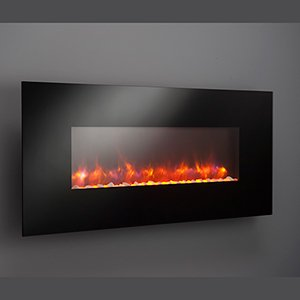 Outdoor Great Room GE-50 50-Inch Gallery Linear Electric LED Fireplace, Includes LED Backlighting, Heater, IR Remote, 6-Feet Cord and Stonefire Media (Ir Fireplace Remote compare prices)