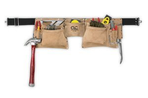 Custom Leathercraft 12 Pocket Heavy Duty Work Apron