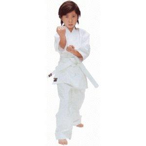 [Karate 3 piece set: bleached Keita Aya traditional karate cloth 3 point set no. 2