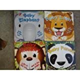 Life In The Zoo & In The Jungle Board Book (Assorted, Titles Vary) Baby Elephant, Lion, Monkey, Or Panda