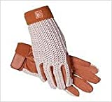 SSG Lycrochet Ultraflex Gloves 8 Natural/Brown