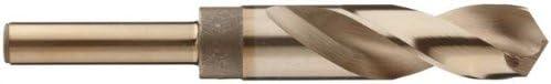 Drill America DACO Series Cobalt Steel Premium Quality Reduced-Shank Drill Bit Gold Oxide Finish Rou