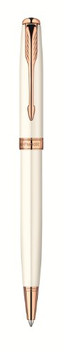 Parker Sonnet Pearl Pink Gold Trim Ball Point Pen Ref: S0947390