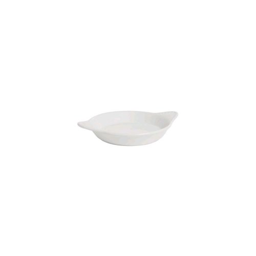 Tuxton Bwn-0902 9 Oz. Round White Shirred Egg Dish - 12 / Cs