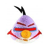 "Angry Birds Space Purple Lazer Bird Plush 5"" No Sound"