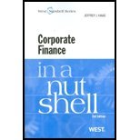 img - for Corporate Finance in a Nutshell, 2d [Nutshell Series] by Jeffrey J. Haas [West,2010] [Paperback] 2ND EDITION book / textbook / text book