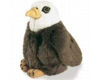 Bald Eagle - Audubon Plush Bird (Authentic Bird Sound) - 1