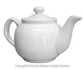 Tea Pot White Classic 2 Cup Teapot