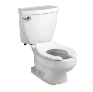 American Standard 2315.228.020 Baby Devoro Flowise 10-Inch High Round Front Toilet, White front-565738