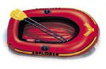 Intex Recreation 58331EP Explorer 200 2-Person Boat Set, 73 x 37-In. - Quantity 3