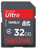 SanDisk Ultra 32GB SDHC Card