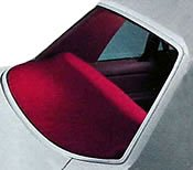 Global Accessories 4857-00-62 DashMat Rear Deck Cover Navy