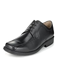 Airflex™ Extra Wide Leather Tramline Shoes