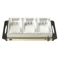 Cheap 3 Section Buffet/ Warming Tray (BCD992)