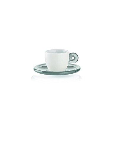 SET 6 TAZZINE CAFFE CON PIATTINNI GZZINI