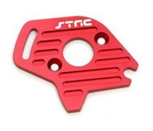 ST Racing Concepts ST6890R Aluminum Heatsink Finned Motor Plate for Slash 4 x 4, Red