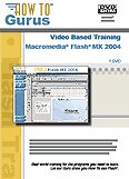 Macromedia Flash MX 2004 Video Tutorial Training on 6 CDRom. 15 Hours in 90 Video Lessons, new computer software instruction