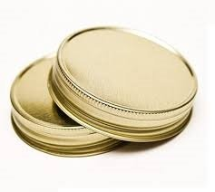 Nakpunar 12 pcs Gold Mason Jar Lids (Mason Jars Wide Mouth 4 Oz compare prices)