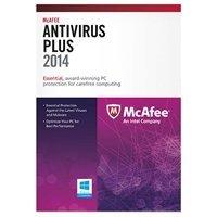 Mcafee Antivirus Plus 2014 - Subscription Package 1 PC 1 Year Standard Retail (English)