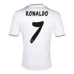 2013-14 Ronaldo Real Madrid Home Jersey. Size Men Large. by B.