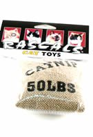 Coastal Cat Toy Catnip Burlap Bag