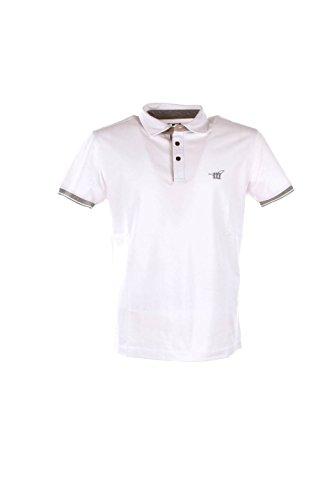 Polo Uomo Henry Cotton's S Bianco 83309-50-84498 Primavera Estate 2016