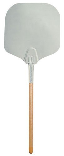 Update International App-1252 Aluminum Pizza Peels With Wood Handle, 52-Inch