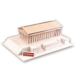 The Parthenon Ancient Greece World Architectures 3 D Model Kit (Parthenon Model compare prices)