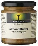 Meridian Almond Butter, Organic 6x170g