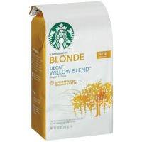 Starbucks Willow Blend Ground Coffee Blonde Decaf