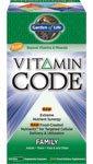 Garden of Life - Vitamin Code - Family - 120 UltraZorbe Vcaps