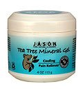 Tea Tree Oil Therapeutic Mineral Gel 4 FL Oz (Cooling Pain Reliever) - Jason Natural