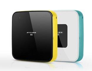 海外SIMフリーWiFiルーター  Alcatel Y855 4G LTE WIFI Router高速データ通信150Mbps (ブルー)