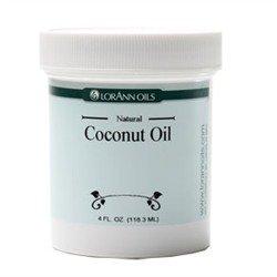 Lorann Coconut Oil (Not Flavored) / 4 Oz