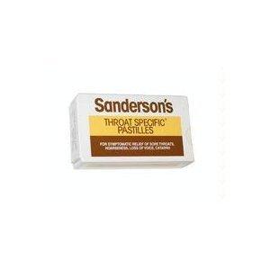 Sanderson's Throat Specific Pastilles 45g