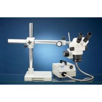 Luxo 18711 System 250-Rli Stereo Zoom Binocular With Boomstand And Fiber Optic Ring Light