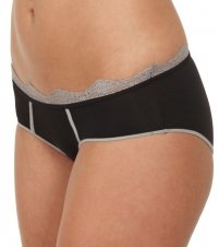 Diesel Celebrity Culotte Panty (CPB6-AWL) S/Nude/Charcoal Contrast