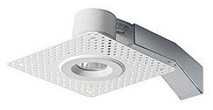 Rab Lighting Round Remodeler Led 8W 3500K White Trimless Wall Washer