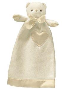 Lovie Babies (small)- Cream Bear Security Blanket