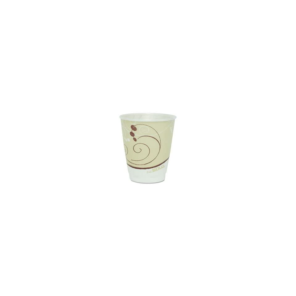 SOLO X8SYMPK Trophy ® Insulated Thin Wall Foam Hot / Cold Drink Cups in Symphony TM Design