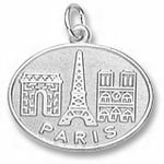 Rembrandt Charms Paris Monuments Charm - Gold Plated