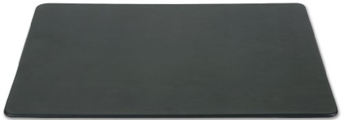 Dacasso Black Leatherette 17 By 14-Inch Conference Table Pad