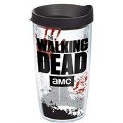 Tervis Tumbler Walking Dead Logo Wrap 16oz with Travel Lid
