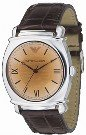 Emporio Armani AR0264 Gents Designer Leather watch :  emporio armani ar0264 gents designer leather watch