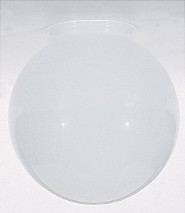 6-Inch White Glass Globe - 3-1/4-Inch Fitter Opening (Light Globe For Ceiling Fan compare prices)