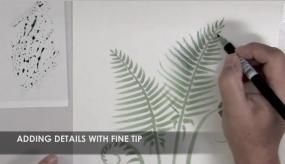 Dual Brush Pens fine tip detailing