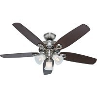 52 Builders Plus Ceiling Fan With Light